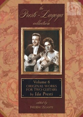 Original Works for Two Guitars (Presti-Lagoya Collection Vol.6)