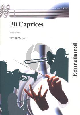 Cavallini 30 Caprices Clarinet (Molenaar)
