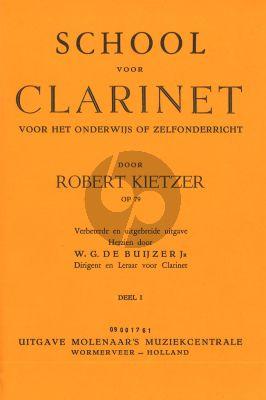 School voor Klarinet Deel 1 Opus 79
