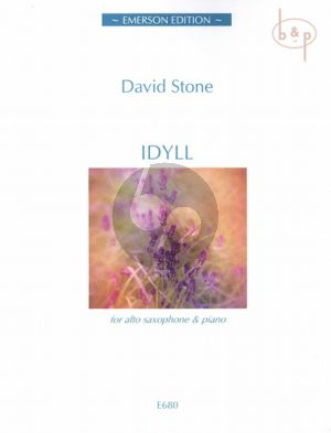 Stone Idyll for Alto Saxophone and Piano (interm to adv.level)