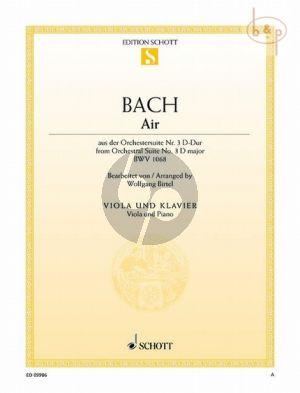 Air from Orchestral Suite No.3 D-major BWV 1068