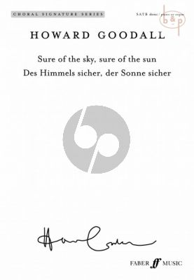Sure of the Sky - Sure of the Sun (SATB-Brass)