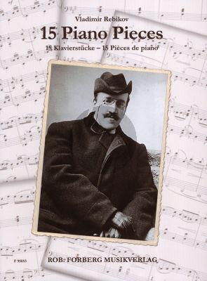 Rebikov 15 Piano Pieces (Intermediate Level)