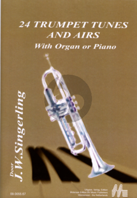 Singerling 24 Trumpet Tunes & Airs Trumpet-Organ (Piano)