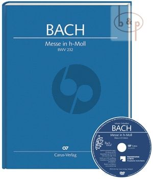 Messe h-moll BWV 232 (Soli-Choir-Orch.) (Full Score with DVD)