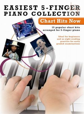 Easiest 5 Finger Piano Collection Chart Hits Now