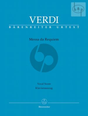 Messa da Requiem (Soli-Choir-Orch.) (Vocal Score)