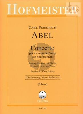 Concerto E-flat major (Horn-Strings)