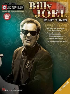 Joel 10 Hit Tunes (Jazz Play-Along Series Vol.181)