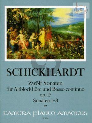 12 Sonatas Op.17 Vol.1