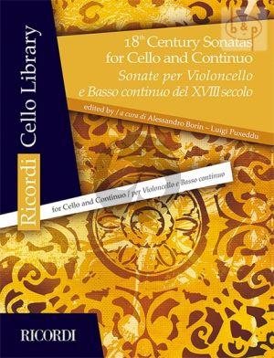 18th. Century Sonatas for Violoncello-Bc