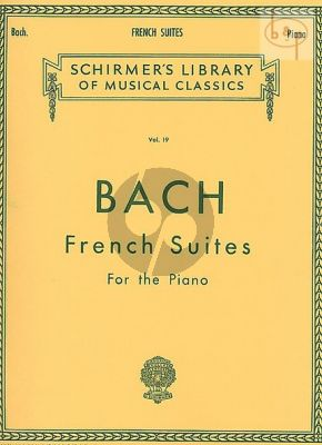 French Suites BWV 812 - 817
