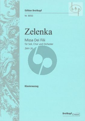 Missa Dei Filii C-major ZWV 20 (Soli-Choir- Orch.)