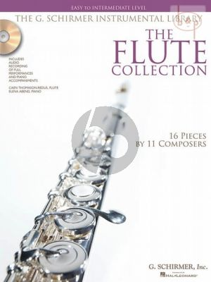 The Flute collection (16 Pieces by 11 Composers) (Easy to intermediate level)