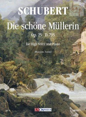 Die Schone Mullerin Op.25 D.795