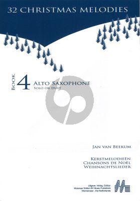 Jan van Beekum Kerstmelodien (32 Christmas Melodies) (with 2nd.part opt.)