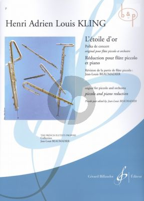 L'Etoile d'Or (orig. Flute-Orch.) (transcr. by Jean Louis Beaumadier)