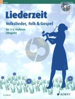 Liederzeit (Volkslieder-Folk & Gospel) (1 - 2 Violins)