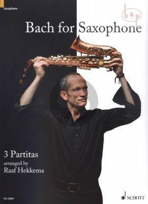 Bach for Saxophone 3 Partitas