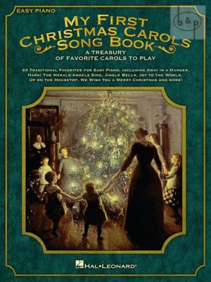 My First Christmas Carols Songbook for Easy Piano