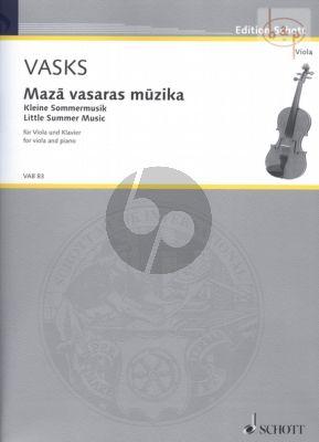 Kleine Sommermusik Viola-Klavier