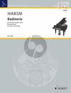 Badinerie Piano 4 hds