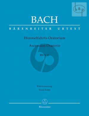 Himmelfahrt Oratorium BWV 11 Vocal Score