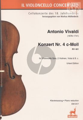Concerto No.4 c-minor RV 401 (Violonc.-Str.-Bc)
