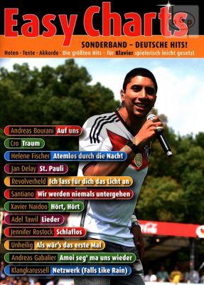 Easy Charts Sonderband Deutsche Hits!