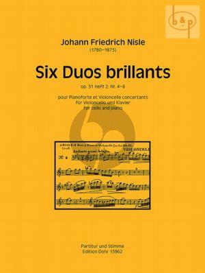 6 Duos Brillantes Op.51 Vol.2