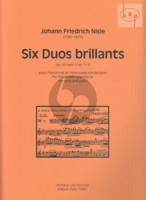 6 Duos Brillantes Op.51 Vol.1