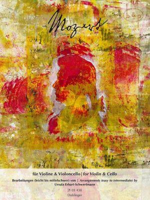 Mozart fur Violine und Violoncello (transcr. by Ursula Erhart-Schwertmann)