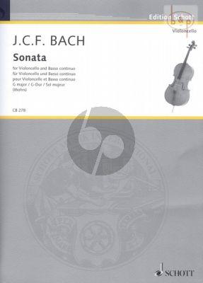 Sonata G-major Violoncello-Bc