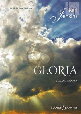 Jenkins Gloria (Solo Voice-SATB-Orch.) (Vocal Score)