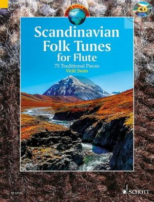 Scandinavian Folk Tunes for Flute (2 Flutes) (73 Traditional Pieces)