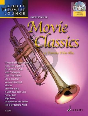 Movie Classics (14 Famous Film Hits) (Trumpet-Piano) (Bk-Cd)