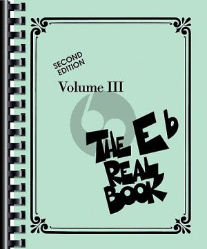 The Real Book Vol.3 Eb edition