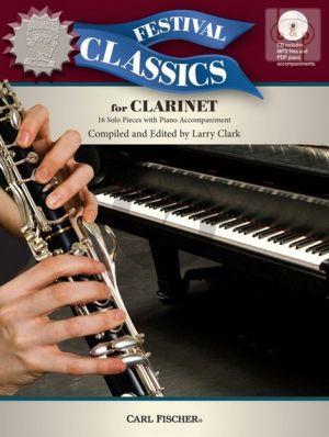 Festival Classics for Clarinet (16 Solo Pieces)