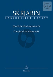 Samtliche Sonaten Vol. 4 No. 9 - 10 Klavier