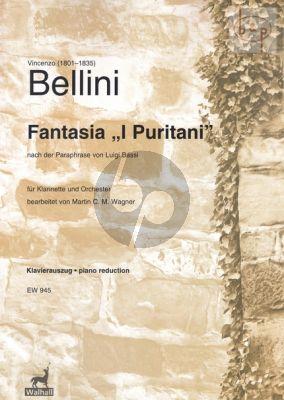 "Fantasia ""I Puritani"" after the paraphrase by Luigi Bassi Clarinet-Piano"