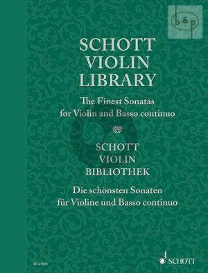 Schott Violin Library: The Finest Baroque Sonatas