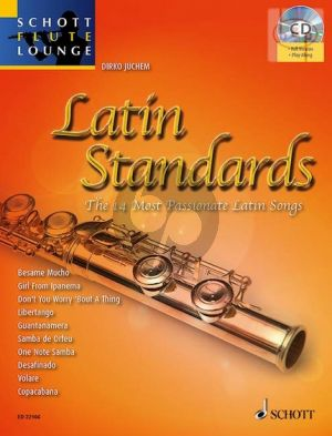 Latin Standards (14 Most Passionate Latin Songs) (Flute-Piano) (Bk-Cd)