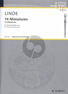 14 Miniaturen for Descant Recorder