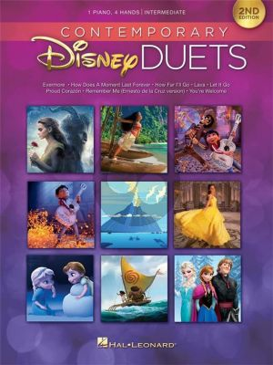 Contemporary Disney Duets (Piano 4 Hds 2nd Edition) (interm.-adv.level)