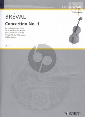 Concertino No.1 F-major Violoncello-Piano