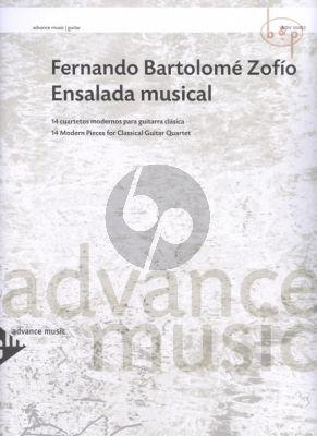 Ensalada Musical (14 Cuartetos)
