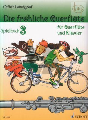 Die Frohliche Querflote Vol.3 Spielbuch