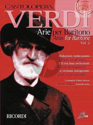 Arias for Baritone Vol.2 (Voice-Piano)