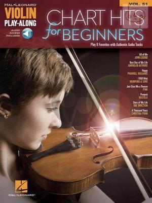 Chart Hits for Violin