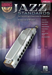 Jazz Standards (Harmonica Play-Along Series Vol.14)